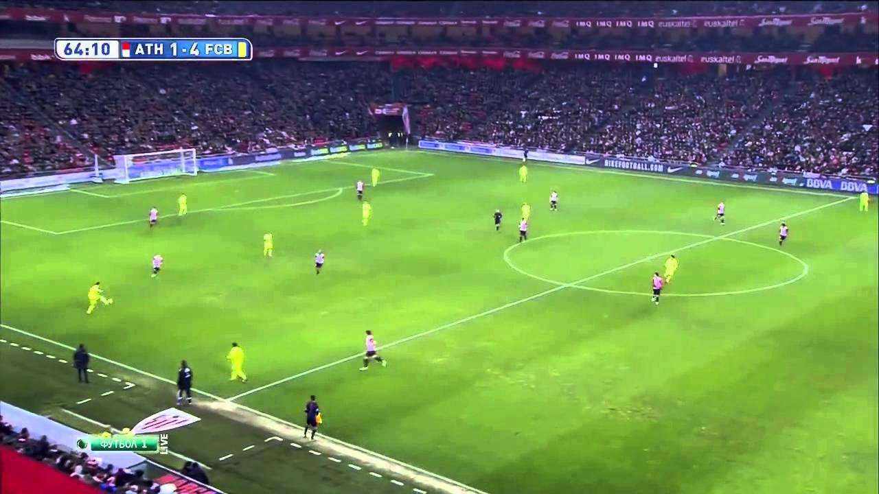Атлетик– Барселона: Барселона 2:5
