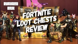 Jazwares Fortnite Loot Chests Assortment 4'' action figure toy review!
