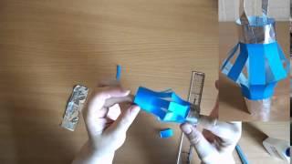 Фонарик из бумаги своими руками(Сделайте с малышом игрушку фонарик из бумаги своими руками., 2014-07-16T12:55:34.000Z)