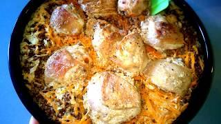 Гречка с Курицей в Духовке Горячее сытное блюдо на Обед для всей семьи.