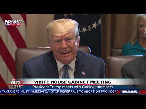 FULL PRESIDENT TRUMP Meeting: White House Cabinet