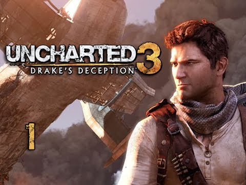 """Uncharted 3 Walkthrough - Part 1 """"It Begins..."""" (Let's Play, Playthrough)"""