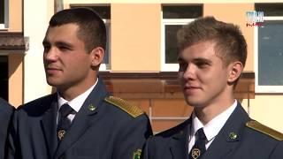 Как поклялись в верности профессии студенты таможенной специальности Гродненского университета