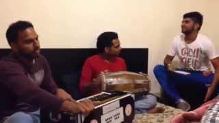 RANJHA JOGI HO GAYA || KUDEEP MANAK JI | RICK | TAJ | JELLY ~ Rehearsal Time New Punjabi Songs 2014