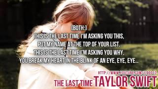 Taylor Swift feat. Gary Lightbody - The Last Time Instrumental + Free mp3 download!