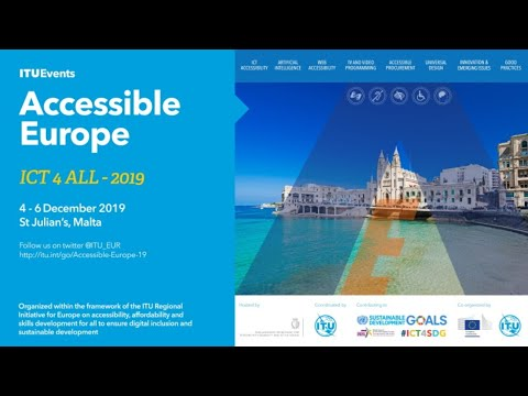 Accessible Europe: ICTs 4 ALL - Day 2