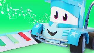 Мультфильмы с грузовиками для детей -  Музыка - Truck Games