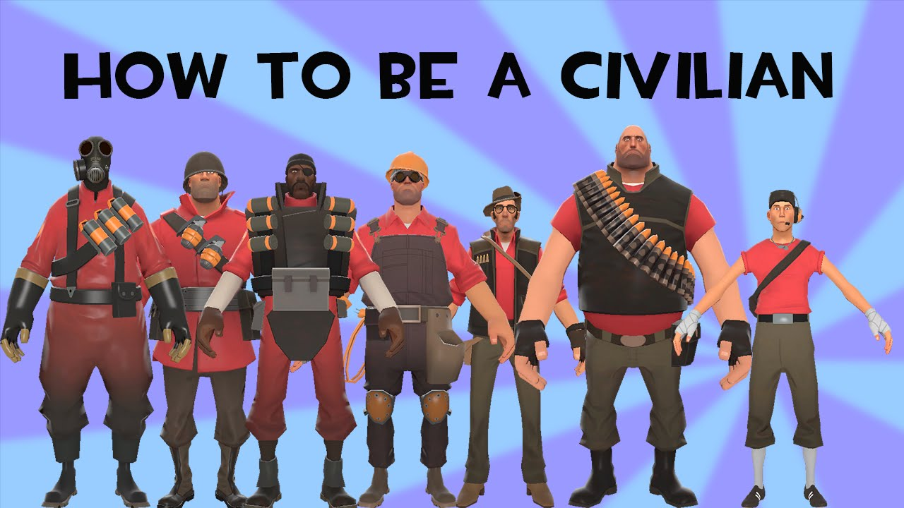 team fortress 2 how to be a civilian glitch all classes but spy