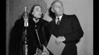 """Anna Christie"" ~{Radio}~ Joan Crawford & Spencer Tracy ~ 1 of 5"