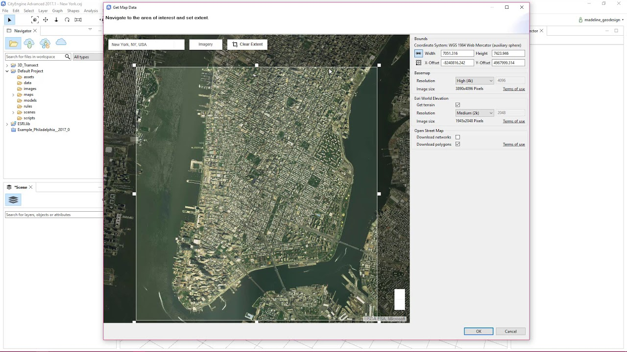 Cityengine how to get map data youtube cityengine how to get map data gumiabroncs Choice Image
