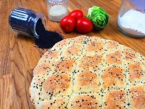 Pide - Türkisches Fladenbrot selber machen / Pide Brot Rezept