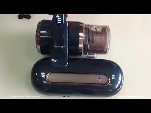 MAMIBOT cordless mattress dust mites vacuum cleaner UV LITE 100 performance test