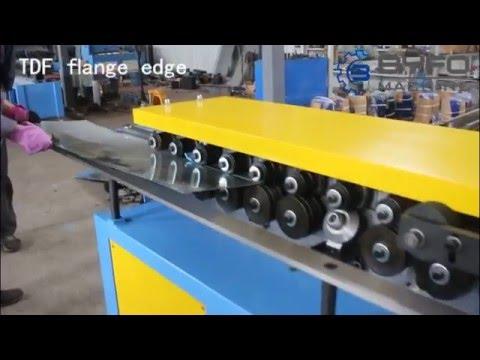T-12 TDF Sheet Metal Flanging Machine,flange Making Machine Manufacturer