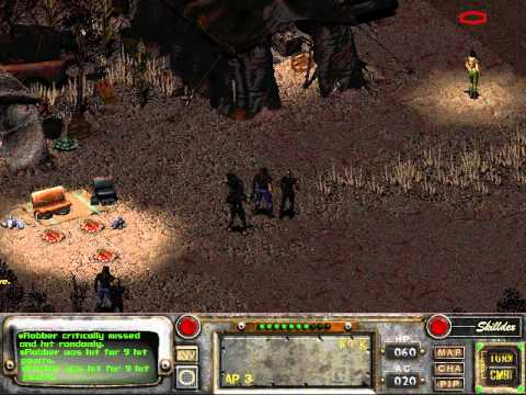 Let's Play Fallout 2 [Blind] 058 Bad Luck Dog