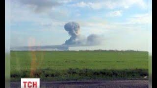 На військовому полігоні в Ростовській області стався вибух