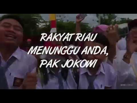 Kecintaan Warga Riau Pada Presiden Jokowi
