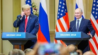 Trump and Putin joint press conference in Helsinki - watch live