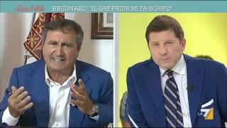 Brugnaro: 'Il gay pride mi fa schifo, è una carnevalata'