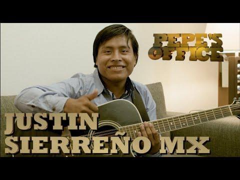 JUSTIN SIERREÑO MX PRESUME NUEVO DISCO - Pepe's Office