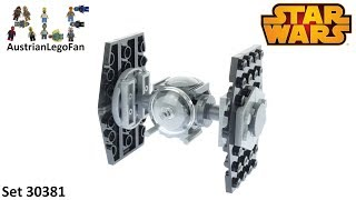 Lego Star Wars 30381 Imperial Tie Fighter - Lego Speed Build Review