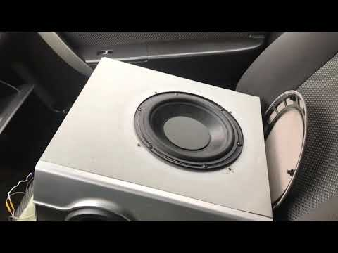 Как подключить домашний саб в машину