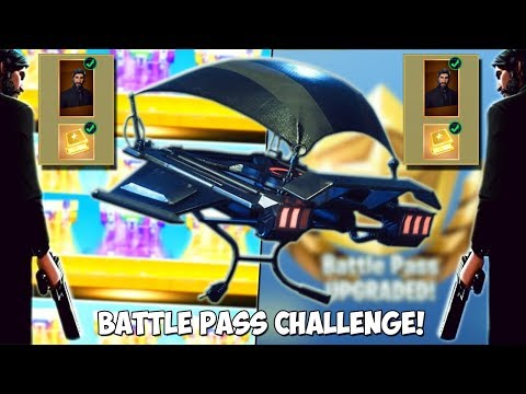 I GOT THE SECRET HIGH OCTANE GLIDER *RAREST ITEM* | Fortnite Season 3 BATTLE PASS TIER 100 CHALLENGE