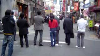 RAW FOOTAGE EARTHQUAKE 9.0 JAPAN -- (TOKYO perspective)
