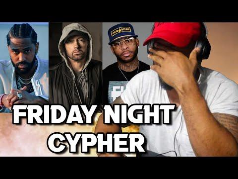 BIG SEAN - FRIDAY NIGHT CYPHER - REACTION!