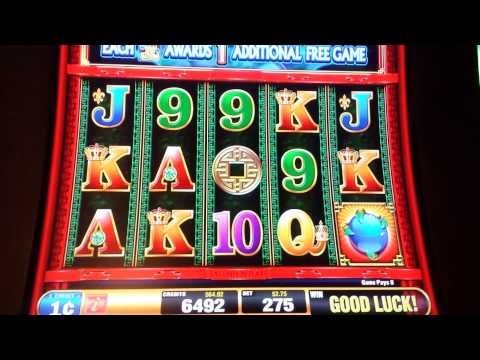 dragon rising slot machine wins in las vegas