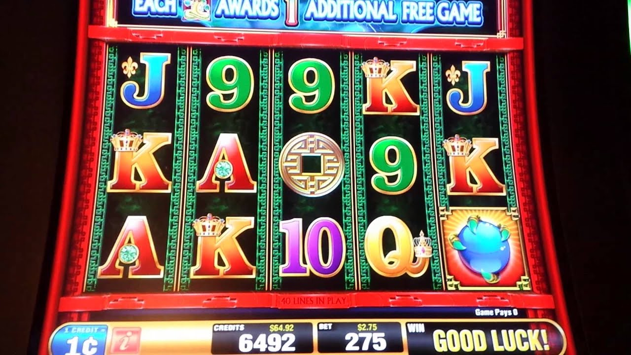 dragon rising slot machine wins triple