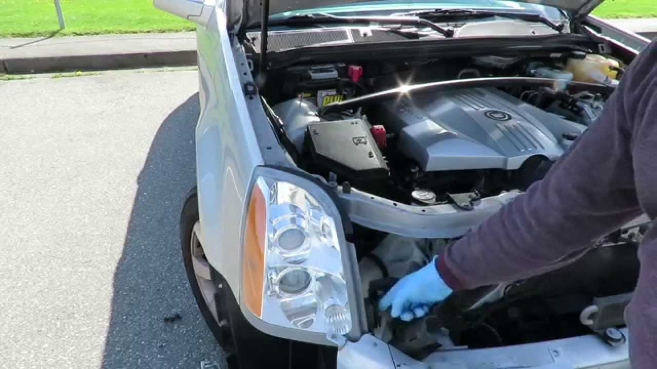 How To Replace 2008 SRX Headlight For Under $100 720p  YouTube