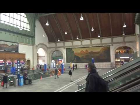 SBB Basel, Train station Swiss /Est. de Trenes de Basilea Suiza