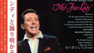 andy willams original album collection Vol.1    my fair lady   時間通りに教会へ