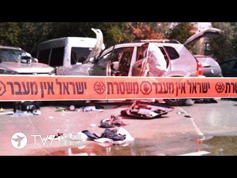 Israeli Arab rams vehicle into pedestrians, wounds three - TV7 Israel News 05.03.18