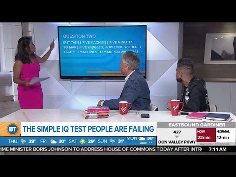 The simple IQ test people are failing - YouTube