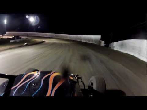 Marysville Raceway Park 3-2-2013 Wingless Feature