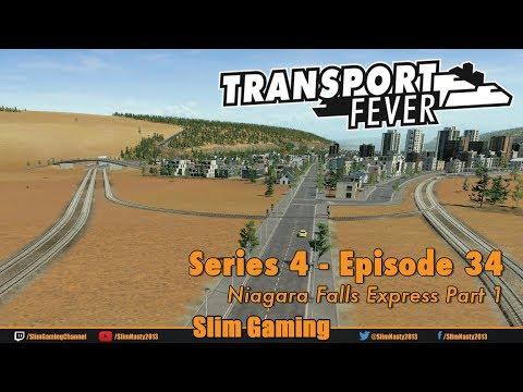 Transport Fever - Series 4 Episode 34 - Niagara Falls Express Part 1
