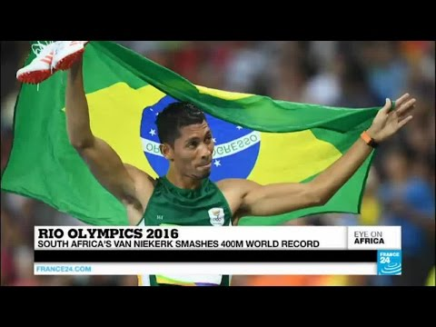 Rio 2016: South Africa's star Wayde Van Niekerk smashes 400m world record!