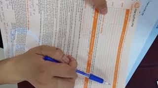 Hướng dẫn khai hồ sơ YCBH Hanwha life ( bản chuẩn)