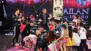 Lourdes Sánchez hizo delirar a una multitud de niños con su nuevo tema
