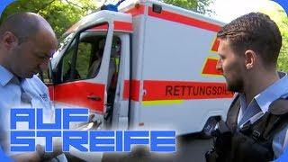 MS kranke Karl klaut Krankenwagen: Was steckt hinter der Tat?   Auf Streife   SAT.1 TV