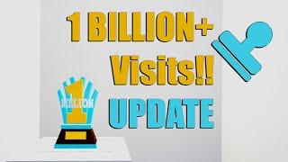 Bloxburg UPDATE For 1 BILLION+ Visits!!! • Roblox