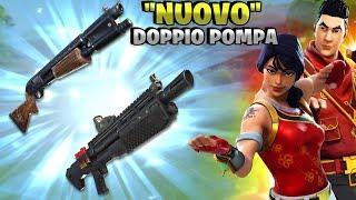 """IL """"NUOVO"""" DOPPIO POMPA! ⛏️ COME USARE IL POMPA LEGGENDARIO - Fortnite Battle Royale Pazzox"""