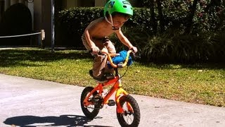 BMX BOY BRODY AT 3 YRS OLD