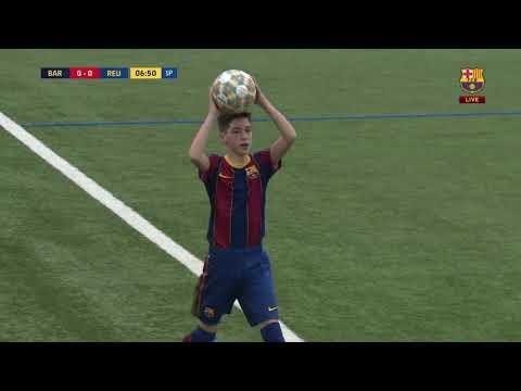 FULL MATCH: FC Barcelona Infantil B 4 Vs 1 Fundacio P.F Reus - 11/04/2021 HD
