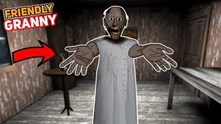 GRANNY IS OUR FRIEND AGAIN!!! (Working Together)   Granny The Mobile Horror Game (Story)