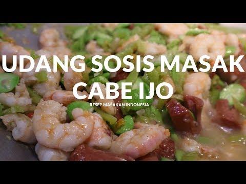 bikin-ngiler-!-udang-pete-sosis-masak-cabe-ijo-|-pontianak-street-food-#3