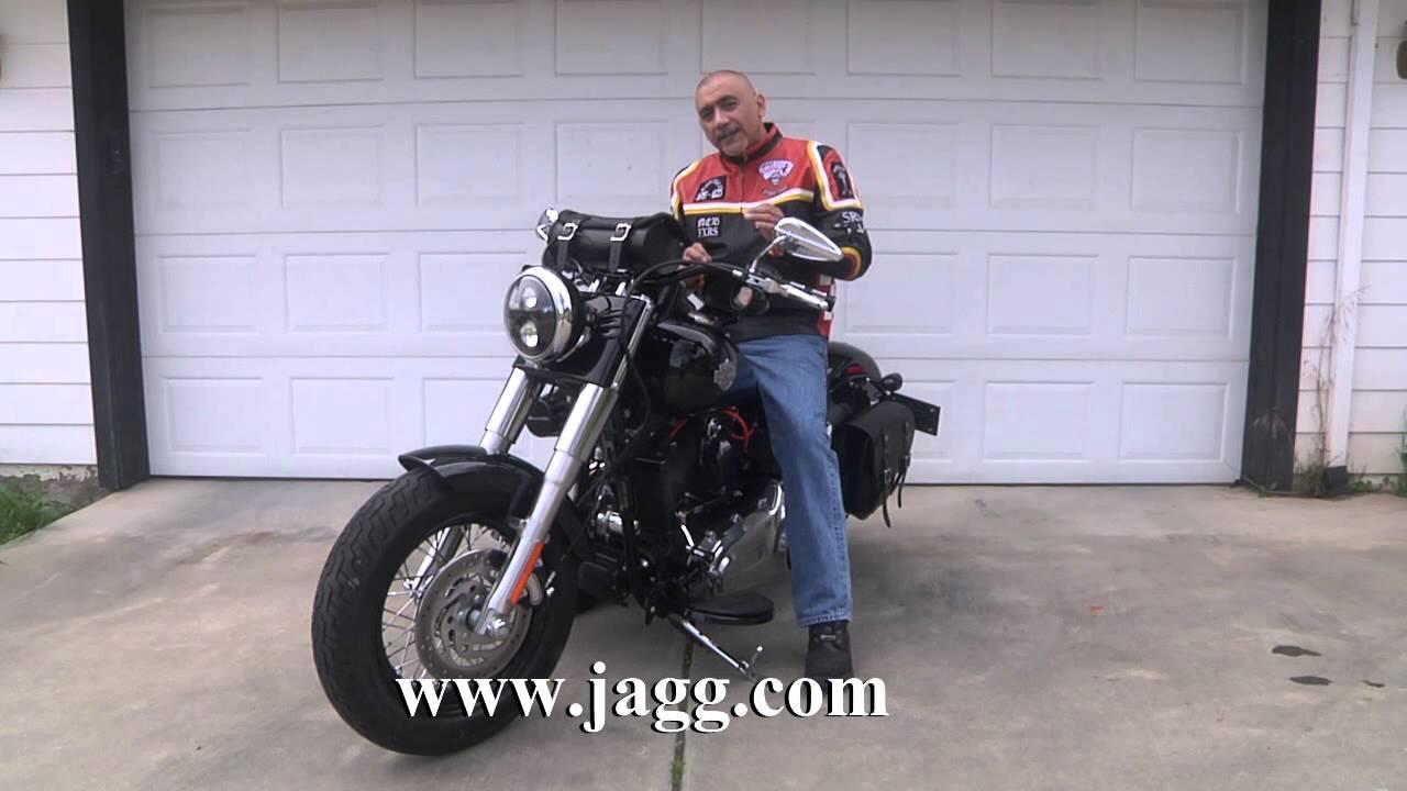 Harley Softail Slim >> Softail Slim Jagg Oil Cooler - YouTube