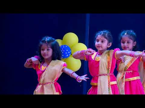 Kids Castle Annual Day 2019 - Welcome Dance-UKG