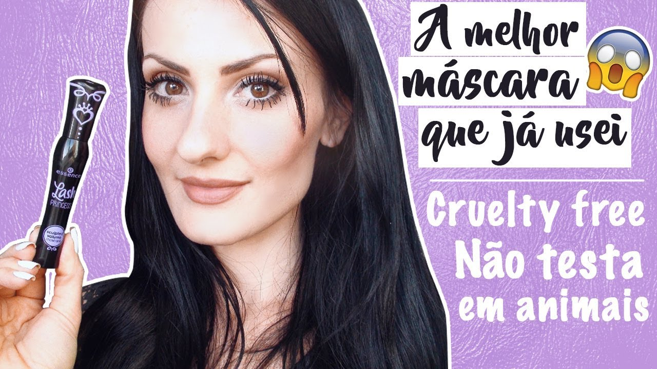 e4add98ba7a Máscara de cílios Essence Lash Princess Sculpted Volume - YouTube